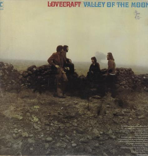 H.P. Lovecraft Valley Of The Moon vinyl LP album (LP record) US HPLLPVA371160