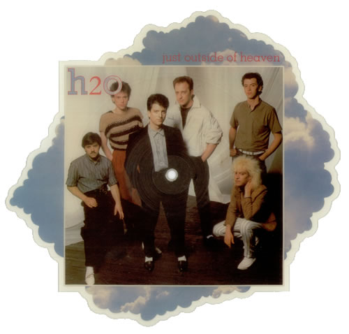 H2O Just Outside Of Heaven shaped picture disc (picture disc vinyl record) UK H20SHJU105980