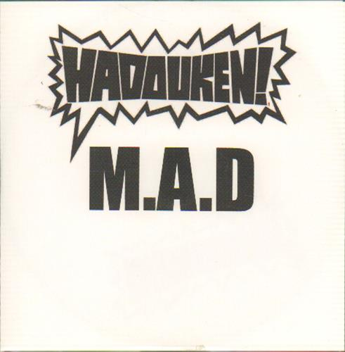 Hadouken! M A D UK Promo CD-R acetate