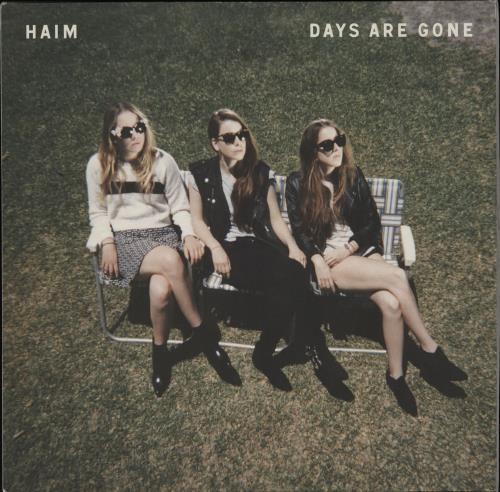 Haim Days Are Gone 2-LP vinyl record set (Double Album) UK IYJ2LDA762209