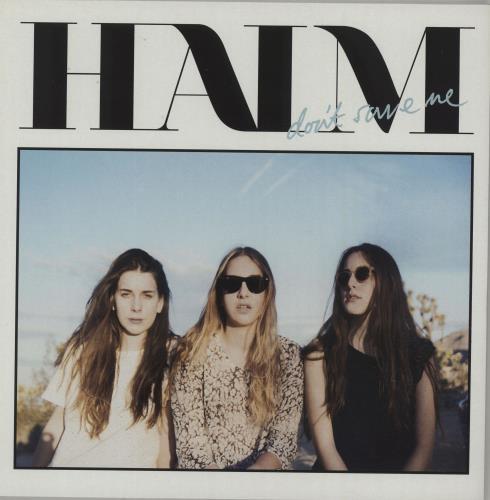 "Haim Don't Save Me - White Vinyl 10"" vinyl single (10"" record) UK IYJ10DO660449"