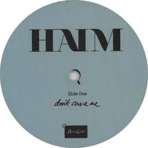 """Haim Don't Save Me 7"""" vinyl single (7 inch record) US IYJ07DO661340"""