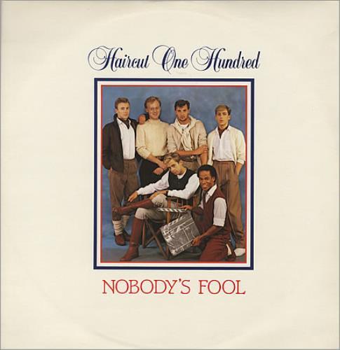"Haircut 100 Nobody's Fool 12"" vinyl single (12 inch record / Maxi-single) UK HAI12NO35587"