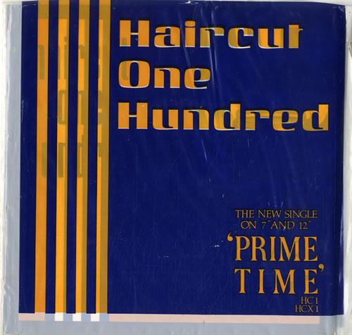 "Haircut 100 Prime Time 7"" vinyl single (7 inch record) UK HAI07PR196483"