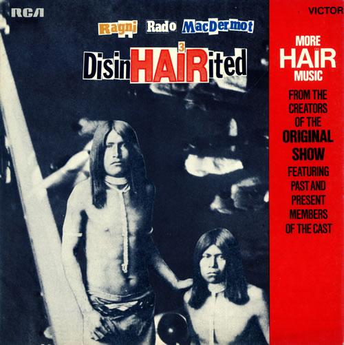 Hair (The Musical) DisinHAIRited vinyl LP album (LP record) UK 6HALPDI490180