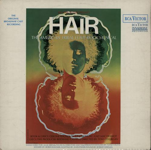 Hair (The Musical) Hair - 2nd - EX vinyl LP album (LP record) UK 6HALPHA573900