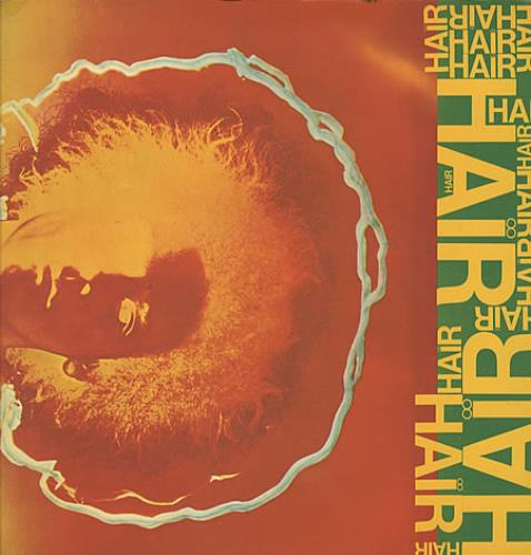 Hair (The Musical) Hair - EX vinyl LP album (LP record) UK 6HALPHA337959