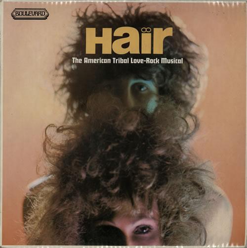 Hair (The Musical) Hair: The American Tribal Love-Rock Musical vinyl LP album (LP record) UK 6HALPHA577874
