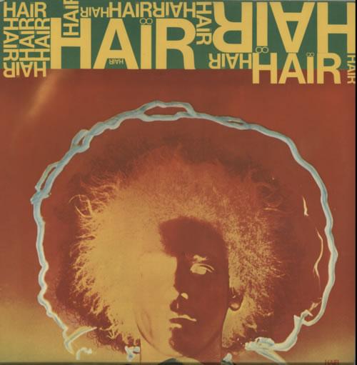 Hair (The Musical) Hair vinyl LP album (LP record) UK 6HALPHA609274