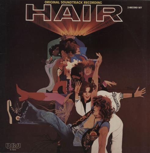 Hair (The Musical) Hair 2-LP vinyl record set (Double Album) German 6HA2LHA758804