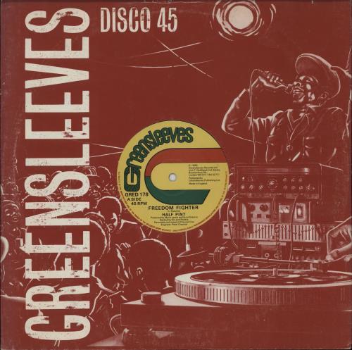 "Half Pint Freedom Fighter 12"" vinyl single (12 inch record / Maxi-single) UK 1BO12FR751234"
