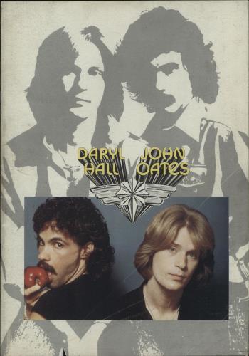 Hall & Oates '77 Tour tour programme UK HNOTRTO325557