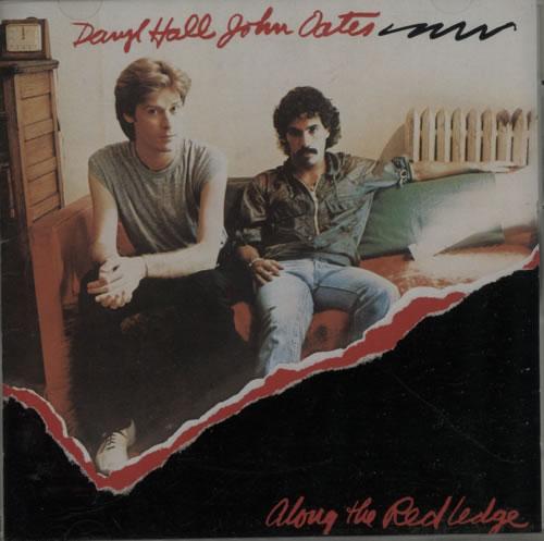 Hall & Oates Along The Red Ledge CD album (CDLP) Japanese HNOCDAL608509