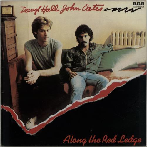 Hall & Oates Along The Red Ledge vinyl LP album (LP record) UK HNOLPAL655190