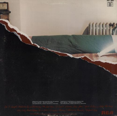 Hall & Oates Along The Red Ledge vinyl LP album (LP record) Canadian HNOLPAL762432