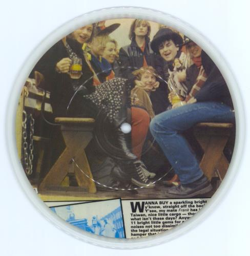 """Hall & Oates Amnesty International Press Conference 7"""" vinyl picture disc 7 inch picture disc single UK HNO7PAM770100"""