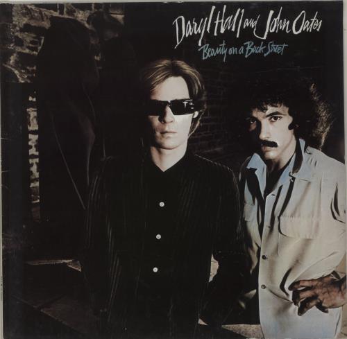 Hall & Oates Beauty On A Back Street vinyl LP album (LP record) German HNOLPBE685812