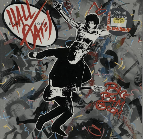 Hall & Oates Big Bam Boom - Sealed vinyl LP album (LP record) German HNOLPBI574228