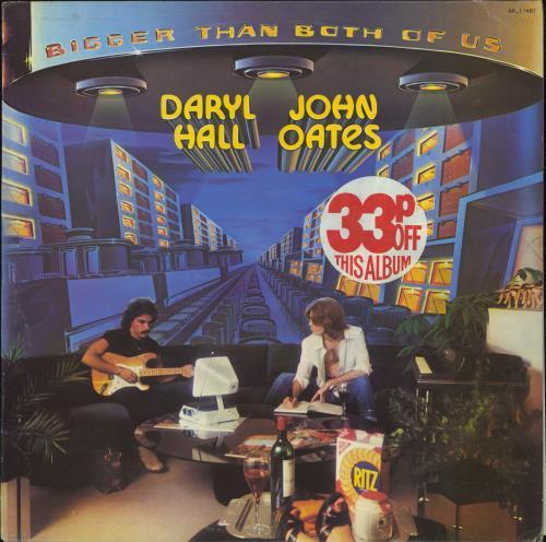 Hall & Oates Bigger Than Both Of Us vinyl LP album (LP record) US HNOLPBI341313