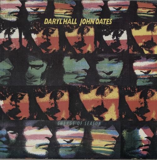 Hall & Oates Change Of Season vinyl LP album (LP record) Dutch HNOLPCH573909