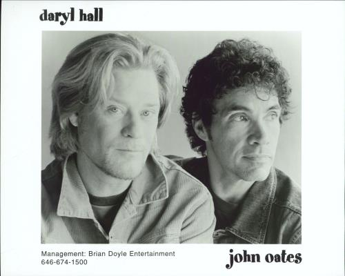 Hall & Oates Do It For Love media press pack US HNOPPDO239990