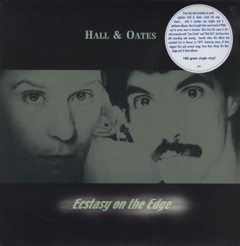 Hall & Oates Ecstasy On The Edge vinyl LP album (LP record) Italian HNOLPEC249268