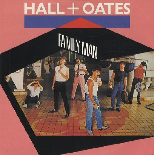 """Hall & Oates Family Man 7"""" vinyl single (7 inch record) UK HNO07FA194591"""