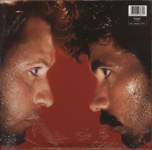 Hall & Oates H2O - Shrink vinyl LP album (LP record) German HNOLPHO744443