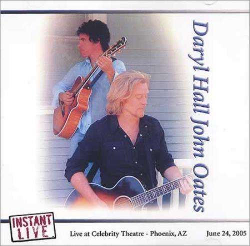 Hall & Oates Instant Live - Live from The Celebrity Theatre Phoenix, AZ CD-R acetate US HNOCRIN400047