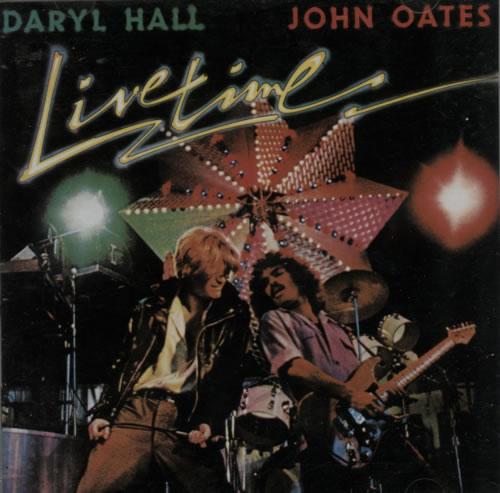Hall & Oates Live Time CD album (CDLP) Japanese HNOCDLI608507
