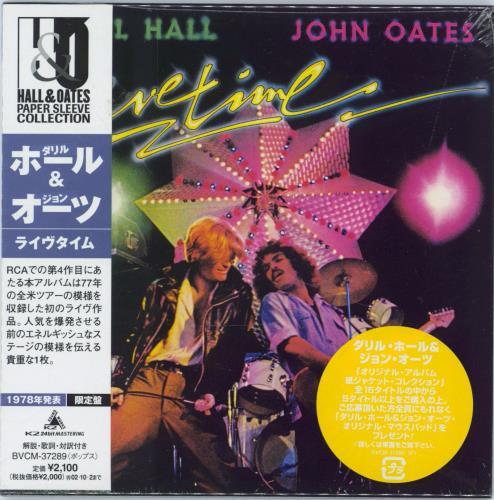 Hall & Oates Livetime - Sealed CD album (CDLP) Japanese HNOCDLI770092