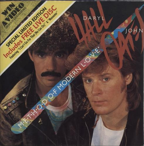"""Hall & Oates Method Of Modern Love - Double Pack 7"""" vinyl single (7 inch record) UK HNO07ME763283"""