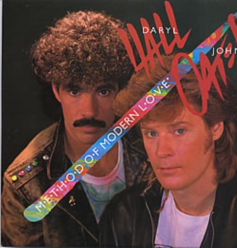 "Hall & Oates Method Of Modern Love 12"" vinyl single (12 inch record / Maxi-single) UK HNO12ME220373"