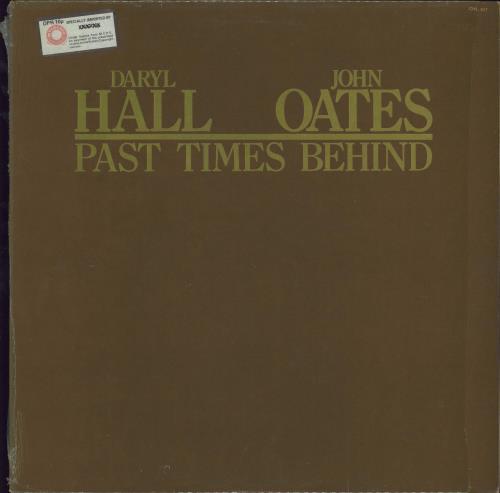 Hall & Oates Past Times Behind vinyl LP album (LP record) US HNOLPPA702804