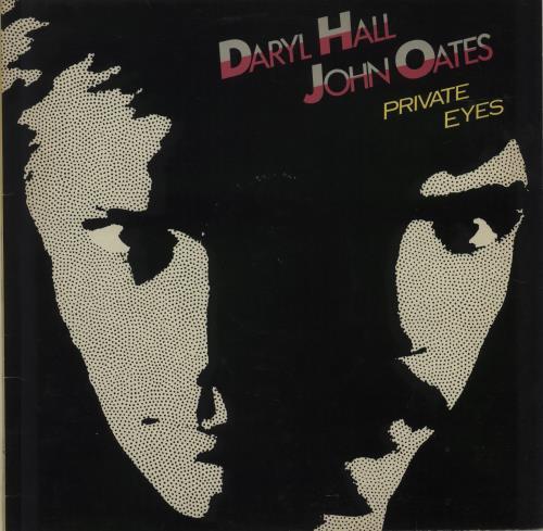 Hall & Oates Private Eyes vinyl LP album (LP record) UK HNOLPPR288028