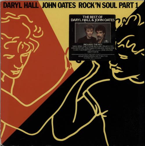Hall & Oates Rock 'N Soul Part 1 - Stickered Shrink + Calendar vinyl LP album (LP record) German HNOLPRO591798