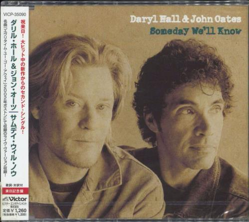 """Hall & Oates Someday We'll Know - Sealed CD single (CD5 / 5"""") Japanese HNOC5SO349083"""
