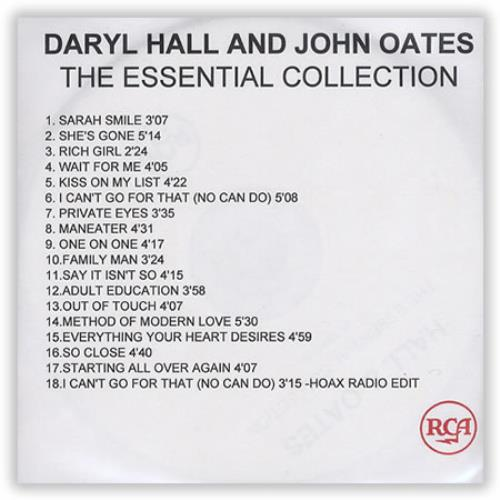 Image result for HALL& OATES ESSENTIAL