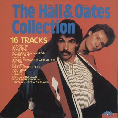 Hall & Oates The Hall & Oates Collection vinyl LP album (LP record) New Zealand HNOLPTH771936