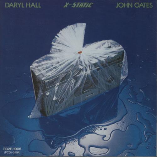Hall & Oates X-Static CD album (CDLP) Japanese HNOCDXS608508