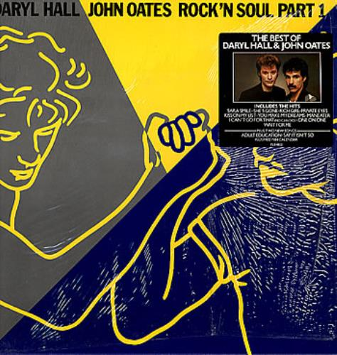 Hall Amp Oates Rock N Soul Part 1 Stickered Calendar Uk