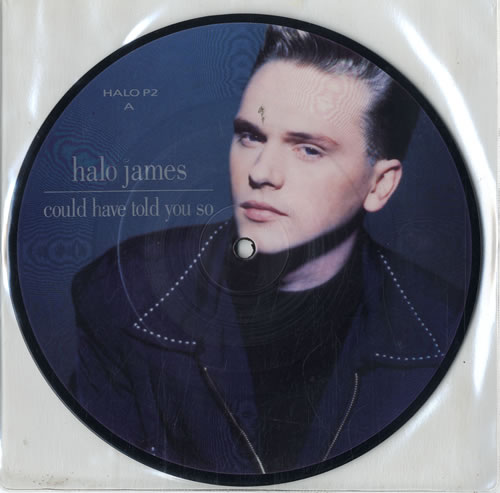 "Halo James Could Have Told You So 7"" vinyl picture disc 7 inch picture disc single UK HAL7PCO567428"