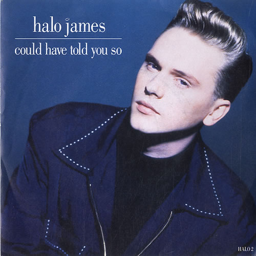 """Halo James Could Have Told You So 7"""" vinyl single (7 inch record) UK HAL07CO623324"""