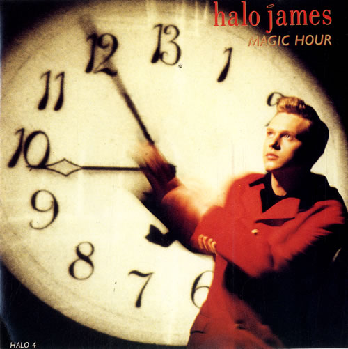 "Halo James Magic Hour 7"" vinyl single (7 inch record) UK HAL07MA581452"