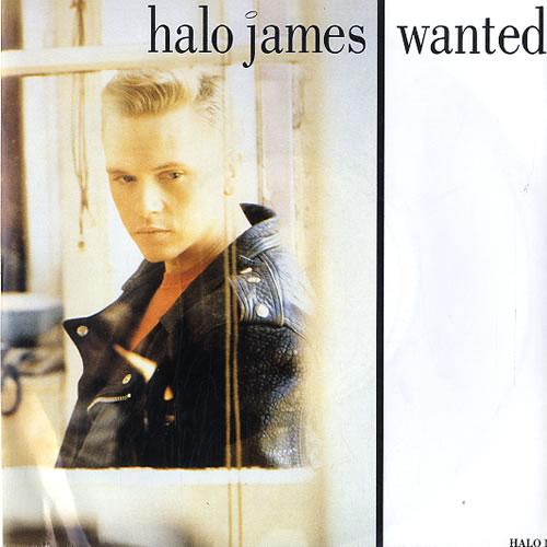 "Halo James Wanted 7"" vinyl single (7 inch record) UK HAL07WA623323"