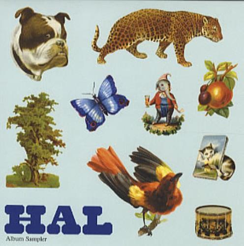"""Hal Album Sampler CD single (CD5 / 5"""") UK HA6C5AL316270"""
