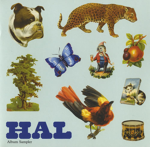 "Hal Hal - Album Sampler CD single (CD5 / 5"") UK HA6C5HA474981"