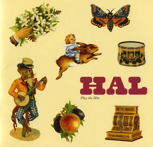 "Hal Play The Hits CD single (CD5 / 5"") UK HA6C5PL477755"