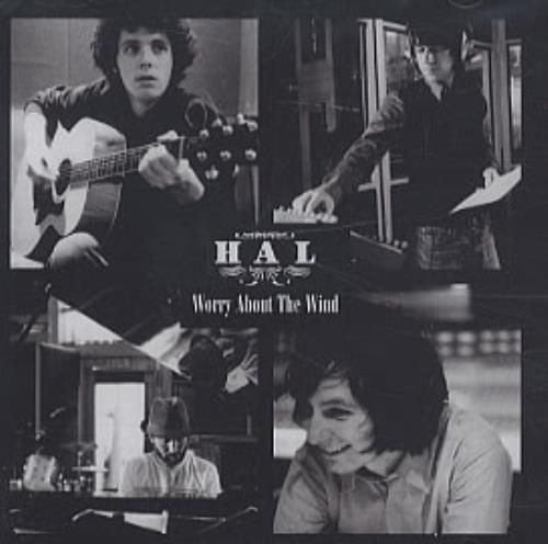 """Hal Worry About The Wind CD single (CD5 / 5"""") UK HA6C5WO283167"""