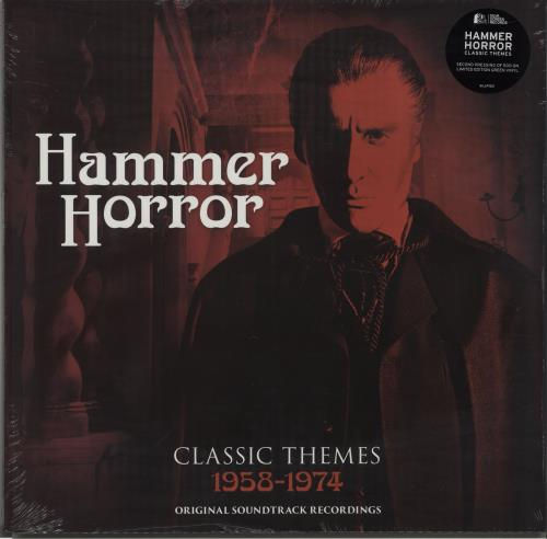 Hammer Horror Hammer Horror - Classic Themes 1958-1974 - Green Vinyl vinyl LP album (LP record) UK I7WLPHA673251